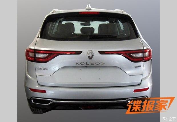 2016 Renault Koleos rear-end high-end model