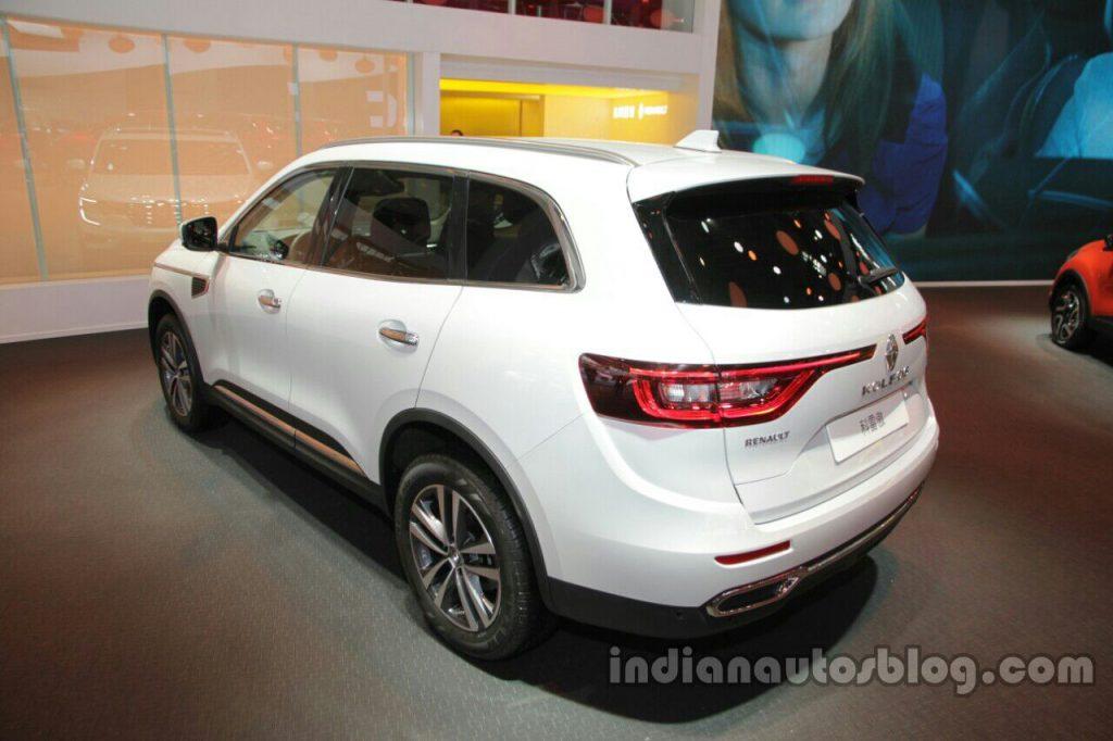 2016 Renault Koleos rear quarter at Auto China 2016