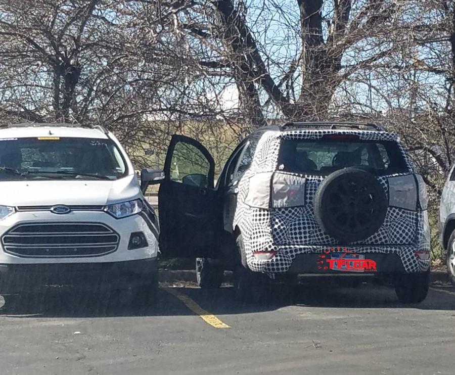2017 Ford EcoSport USA spy shot