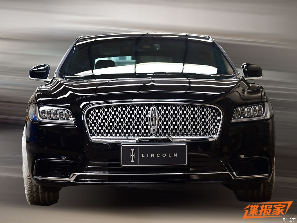 2017 lincoln continental front black spied. Black Bedroom Furniture Sets. Home Design Ideas
