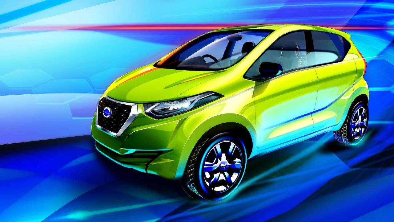 Datsun redi-GO to make its world premiere today