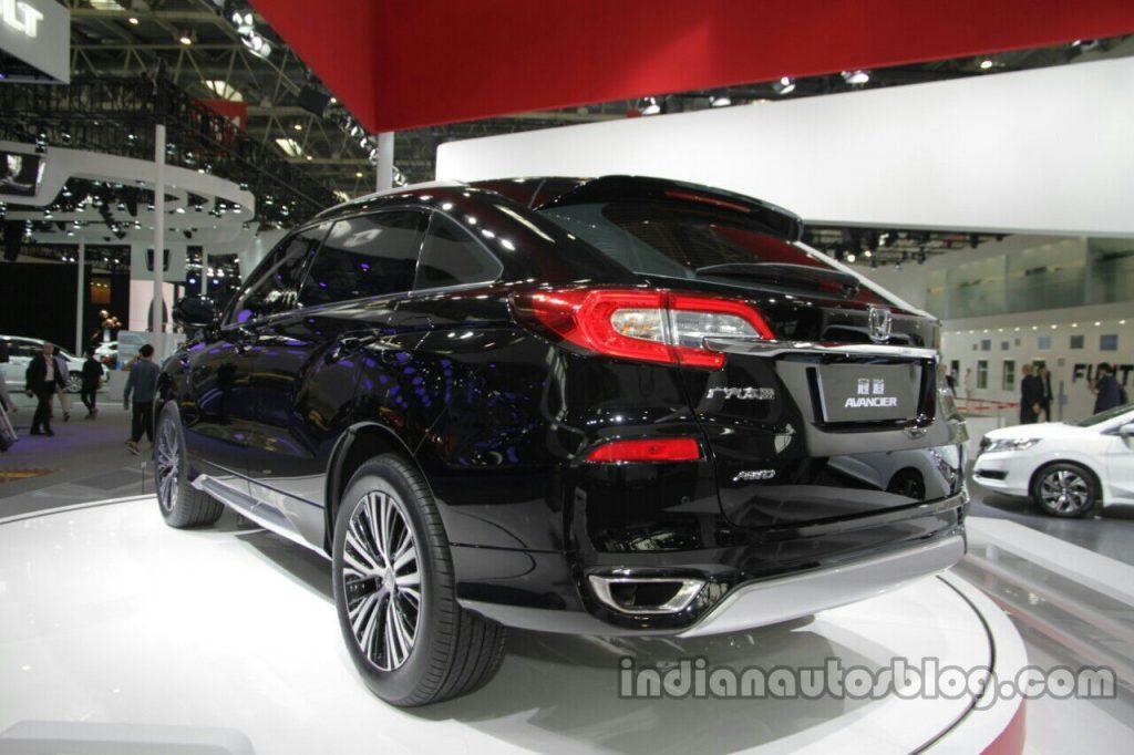 Honda Avancier rear quarter at Auto China 2016