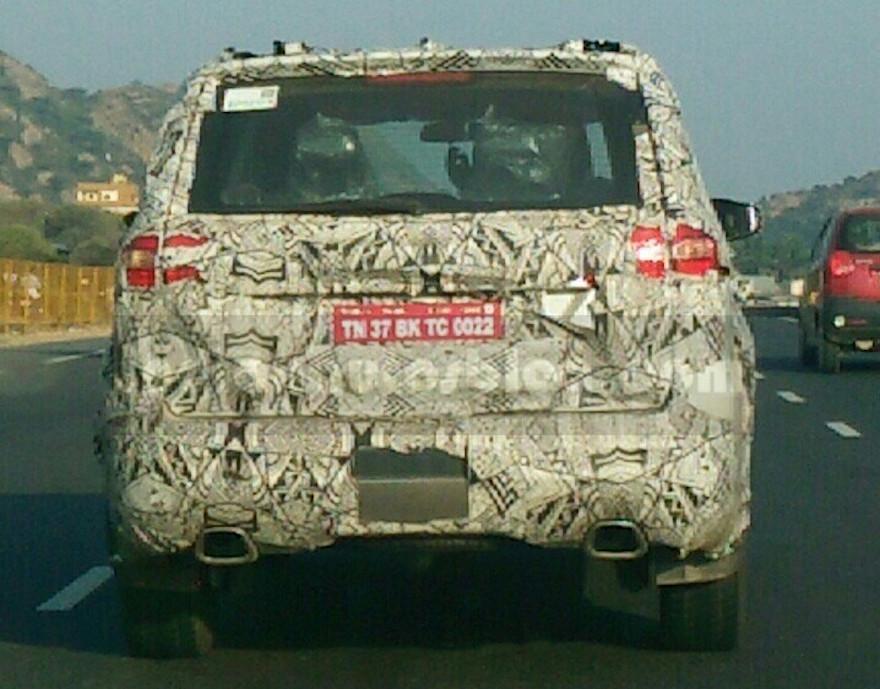 Tata Hexa Spied On Bangalore Chennai Highway By Iab Reader