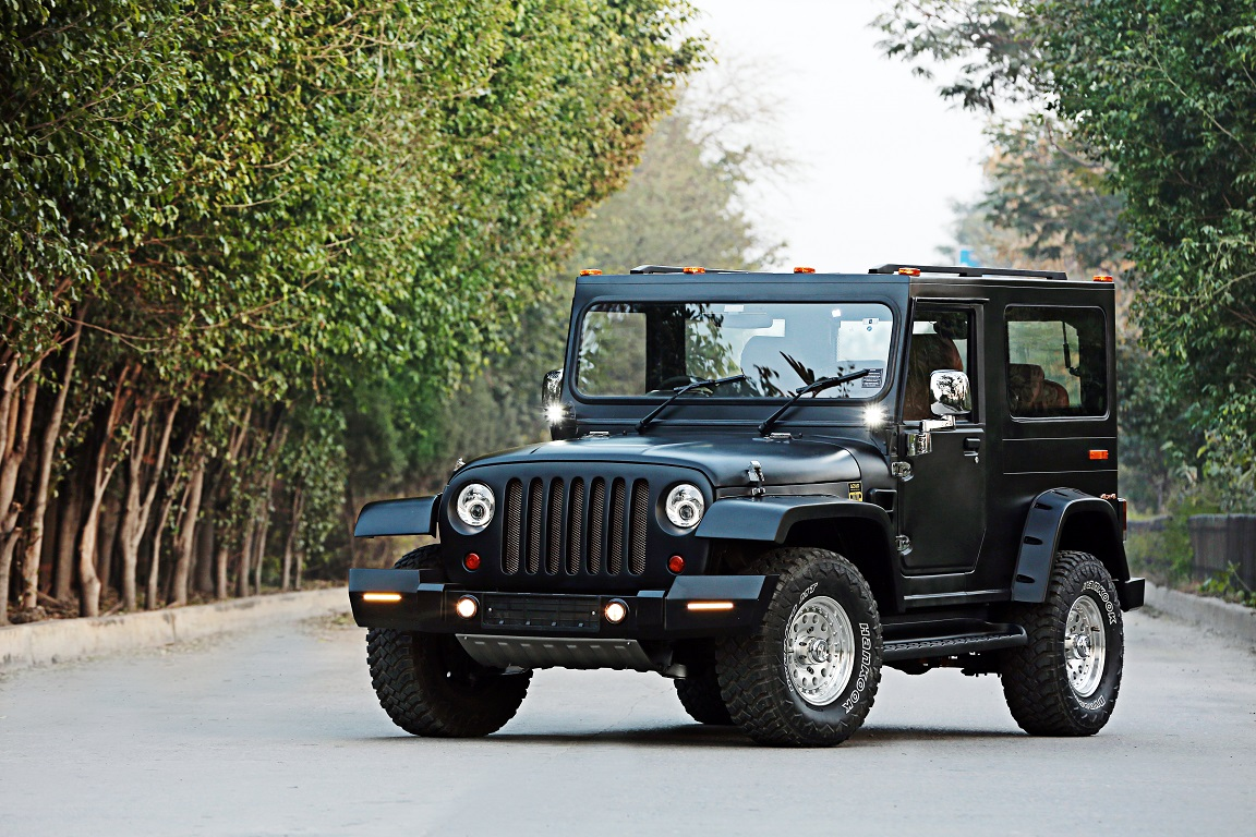 Mahindra Thar Hipster Azad Front Quarters