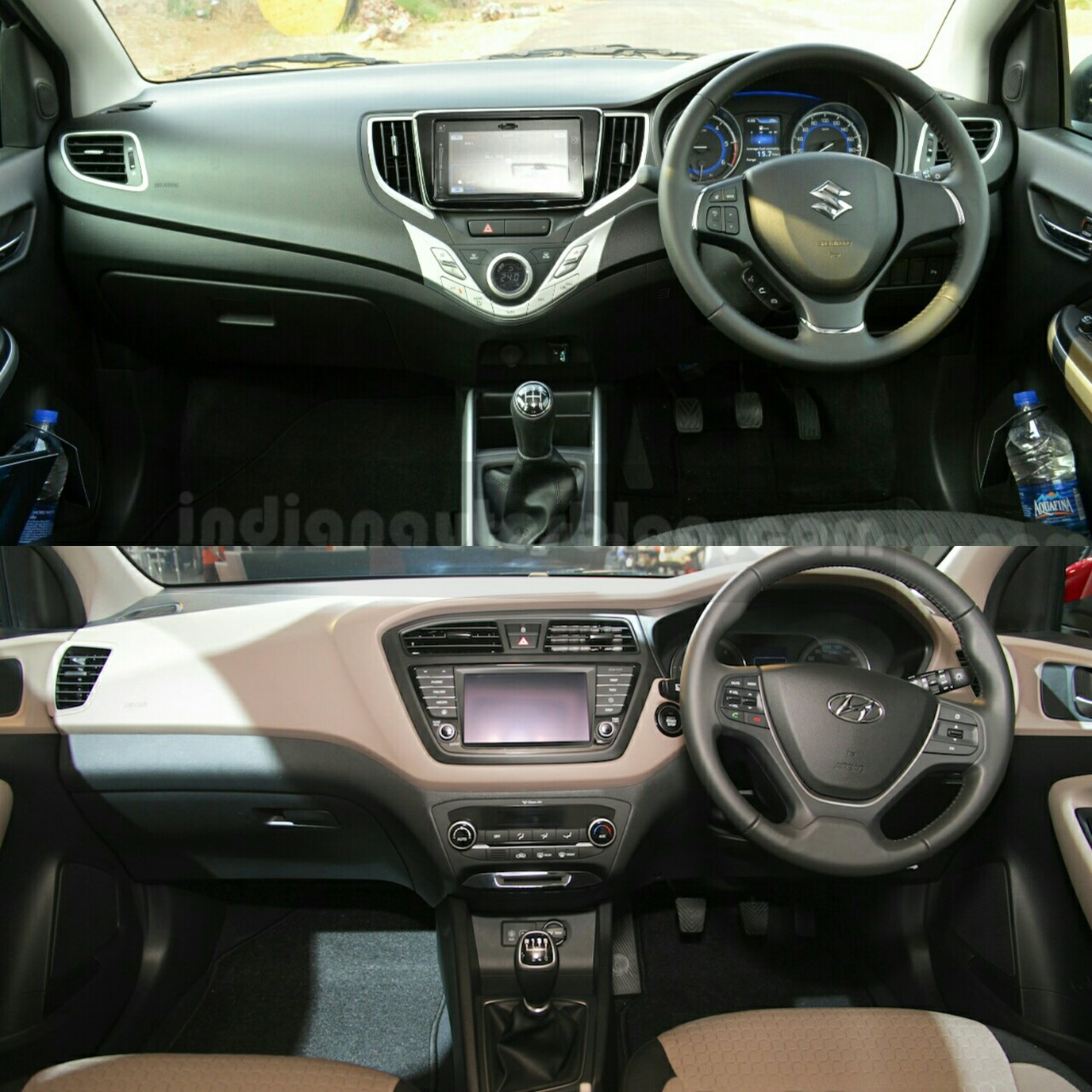 Maruti baleno vs hyundai i20 comparison review - Hyundai i20 interior ...