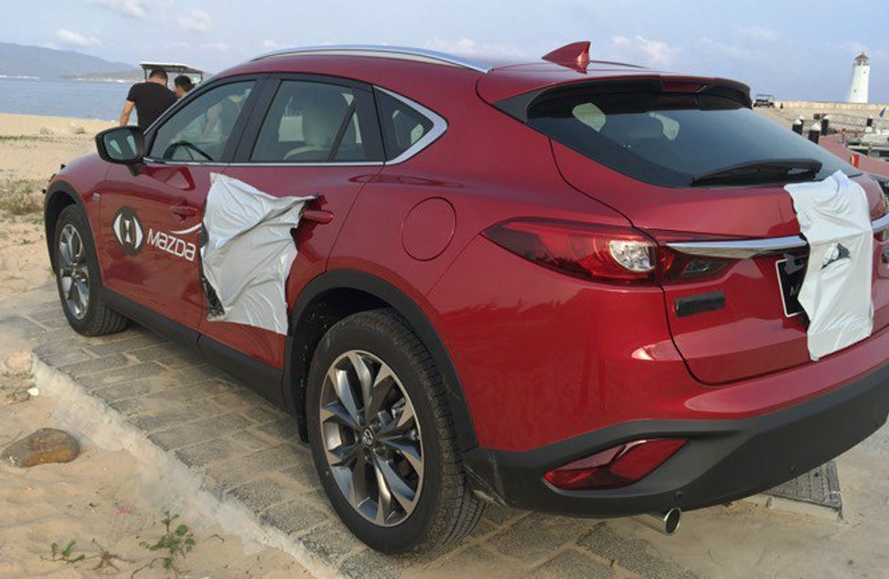 Mazda CX-4 rear spotted undisguised