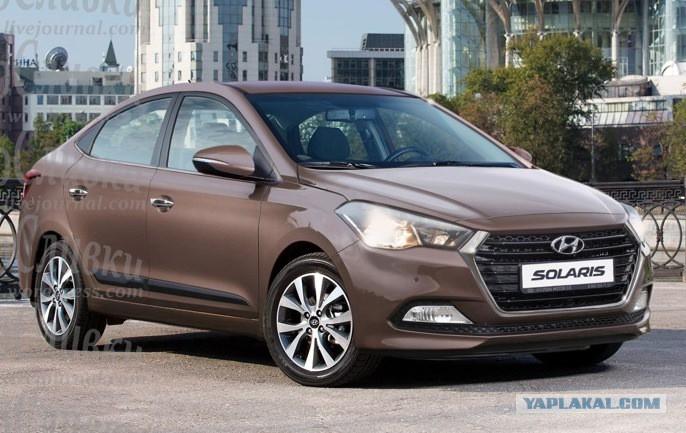 Next-gen 2017 Hyundai Verna front Rendering