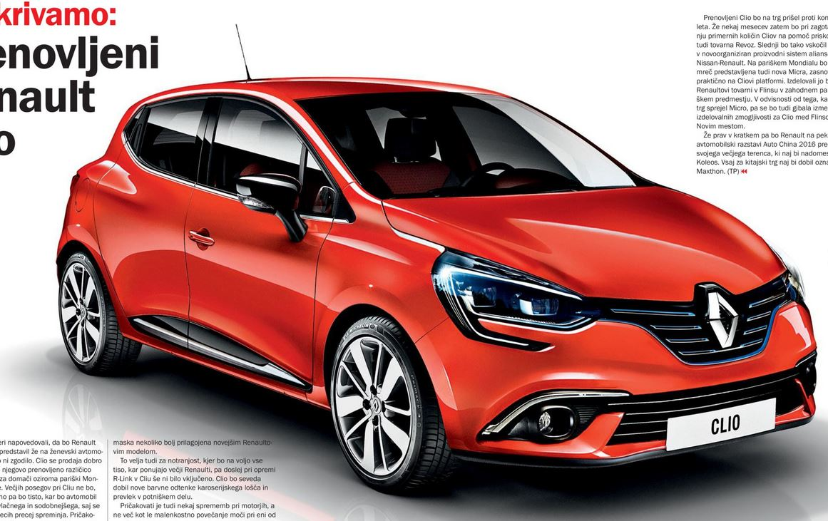 Renault Clio 2016 >> New Rendering Of The 2016 Renault Clio Shows What S In Store