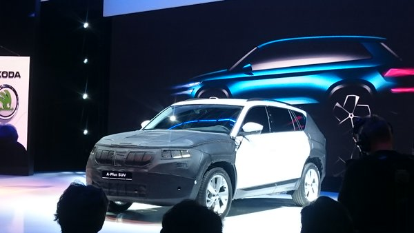 Skoda VisionS SUV (Skoda Kodiaq) prototype revealed