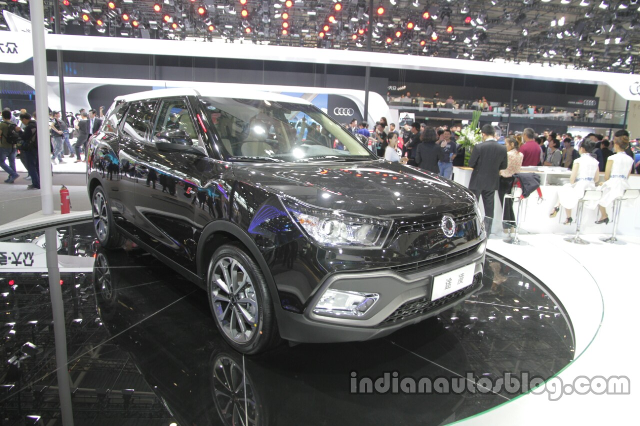 SsangYong XLV at Auto China 2016 front three quarters