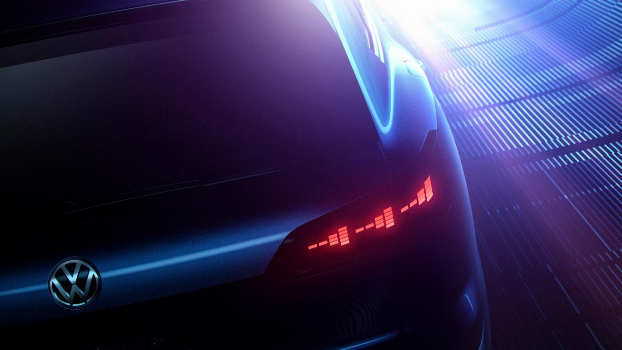 VW Beijing Concept tail light