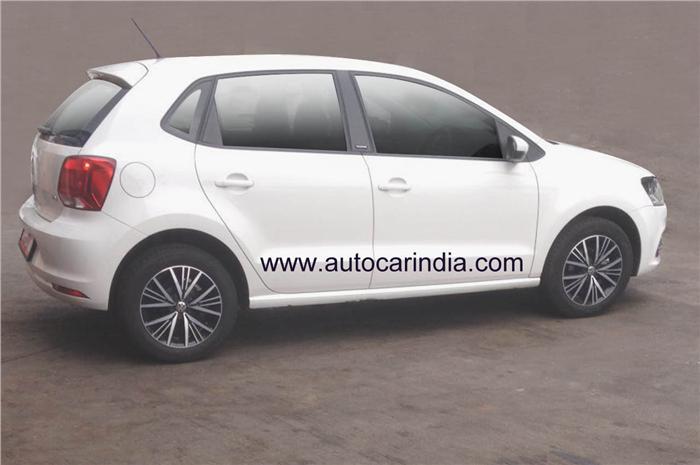 VW Polo ALLSTAR in India spy shot