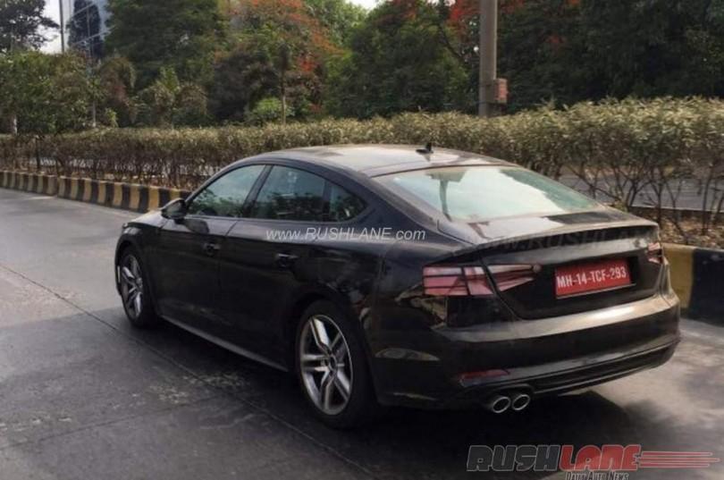 2016 Audi A5 Sportback India spied