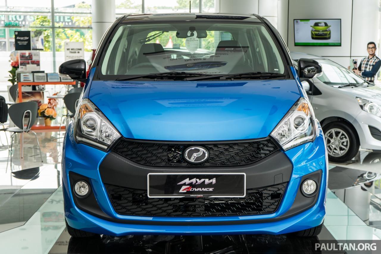 2016 Perodua Myvi 1.5L Advance front launched