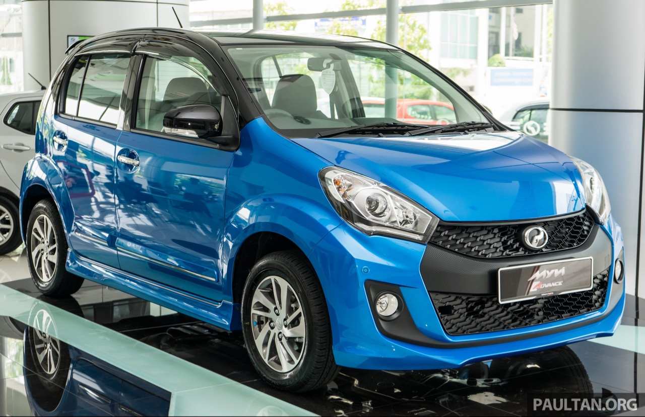 2016 Perodua Myvi 1.5L Advance - In Images