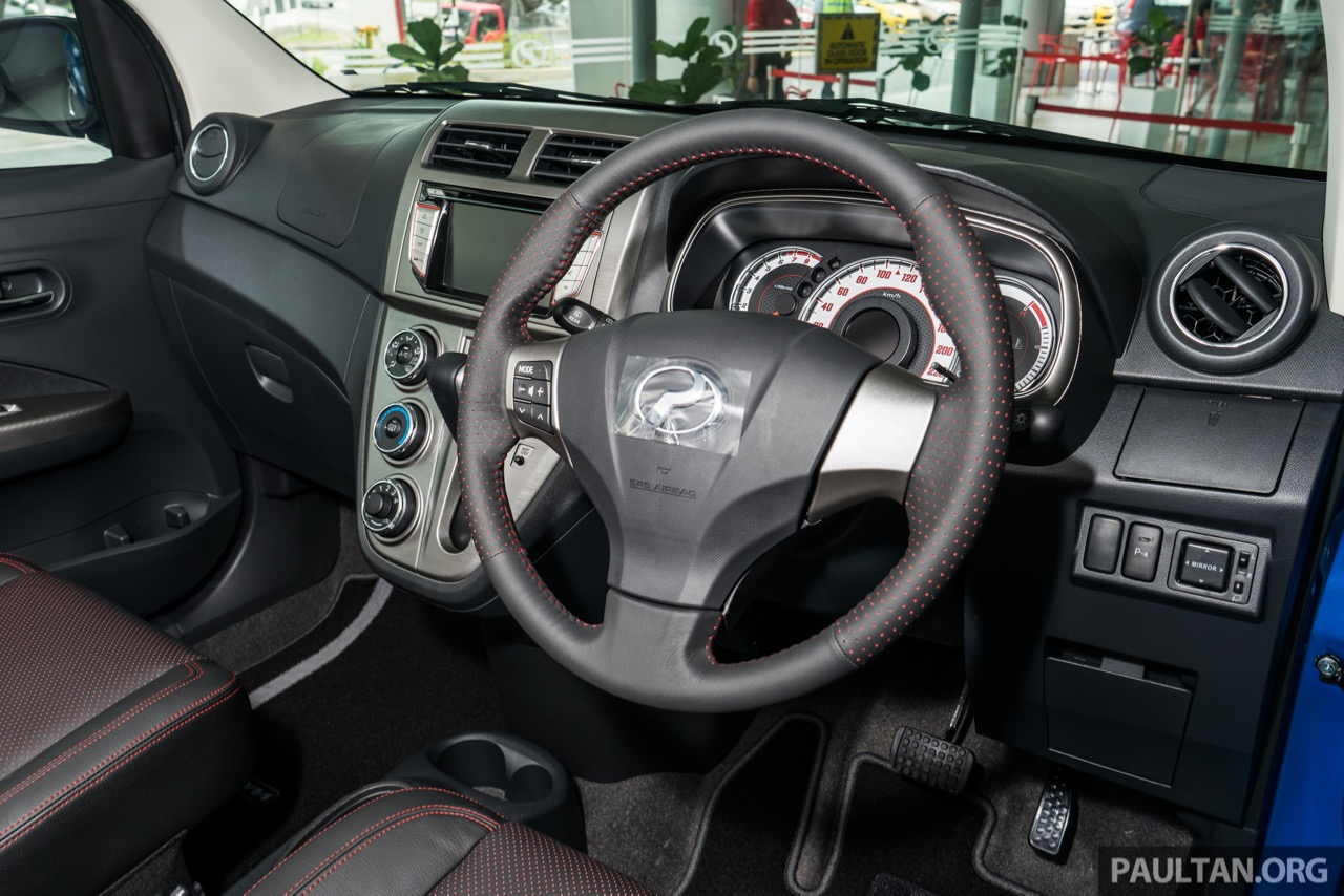 2016 Perodua Myvi 1.5L Advance interior launched