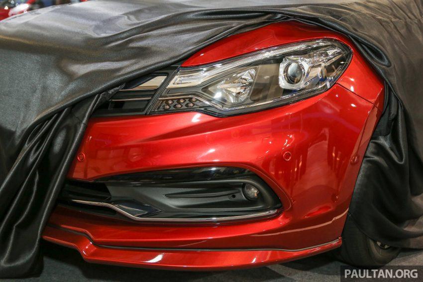 2016 Proton Perdana front teased