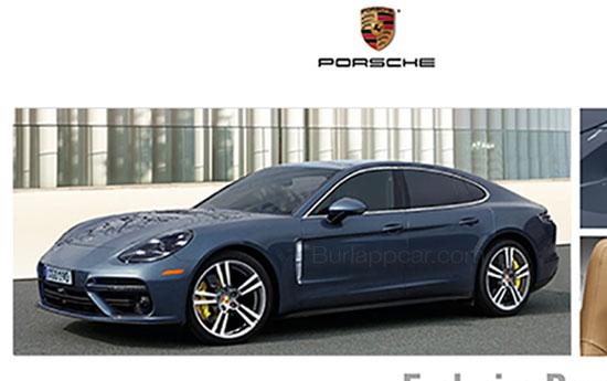 2017 Porsche Panamera exterior leaked image