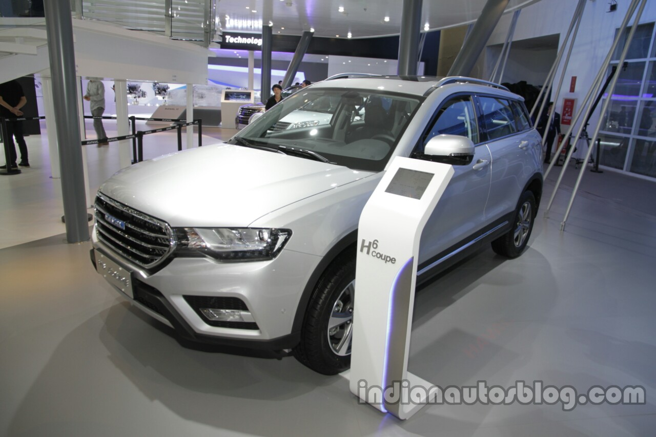 Haval H6 Coupe front three qiarters 4lsat Auto China 2016