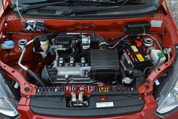 New Maruti Alto 800 (facelift) engine