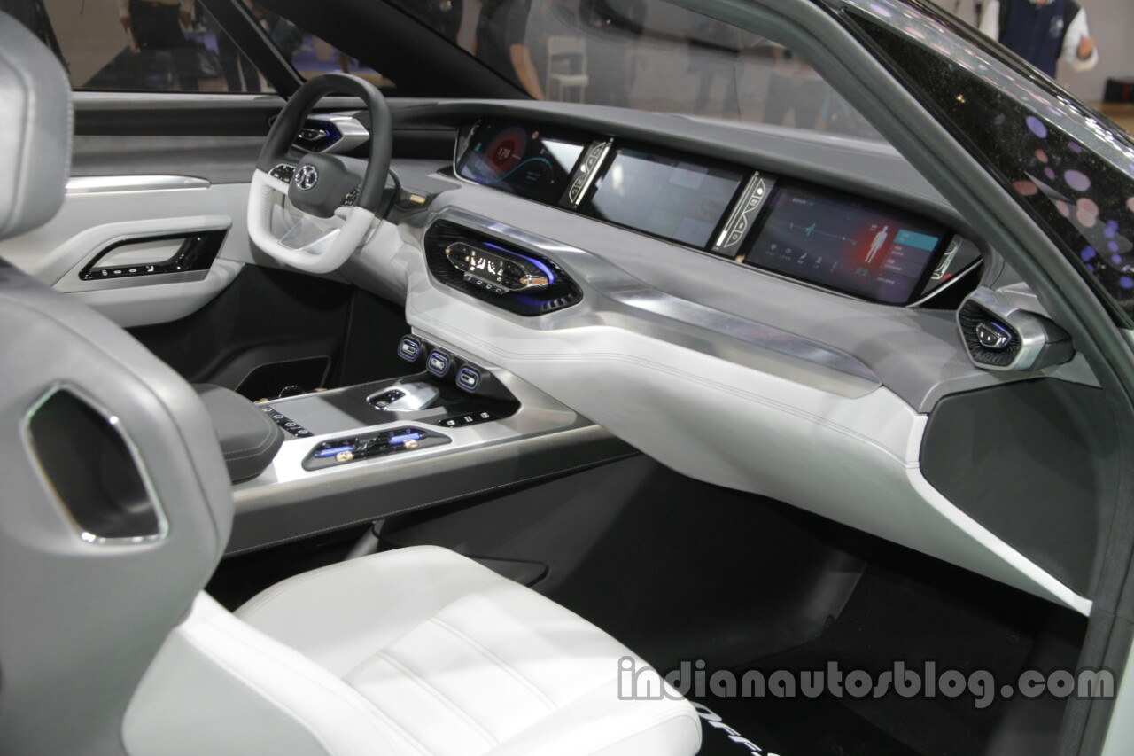senova offspace concept interior dashboard at auto china 2016. Black Bedroom Furniture Sets. Home Design Ideas