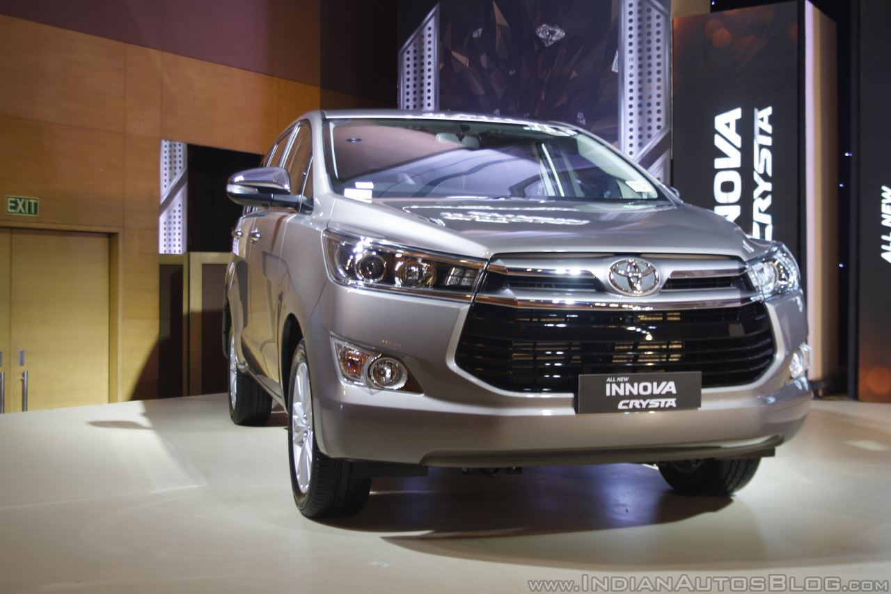 2018 Toyota Innova & 2018 Toyota Fortuner to launch in India