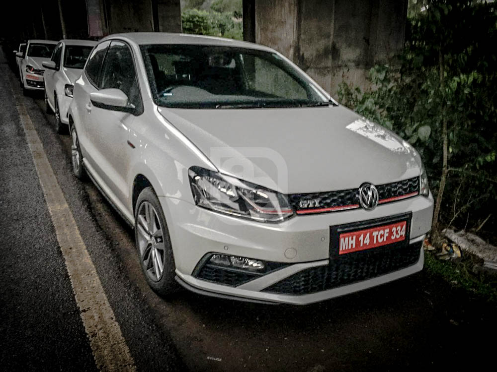 189 hp VW Polo GTI front spied