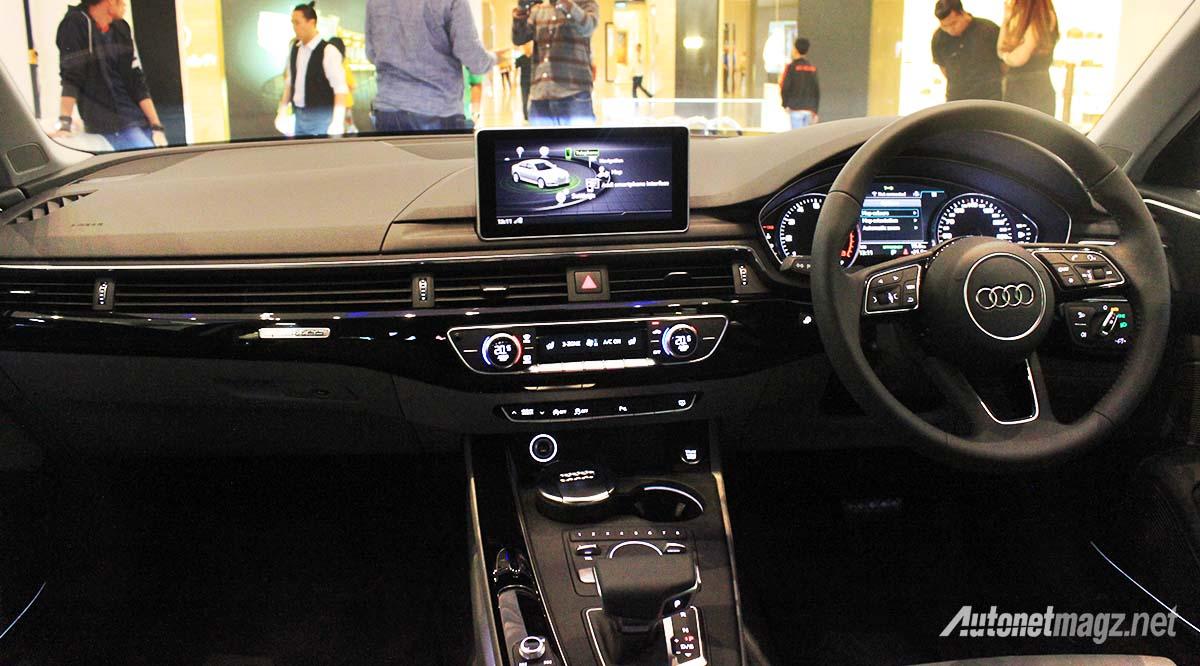 2016 Audi A4 interior Indonesian launch