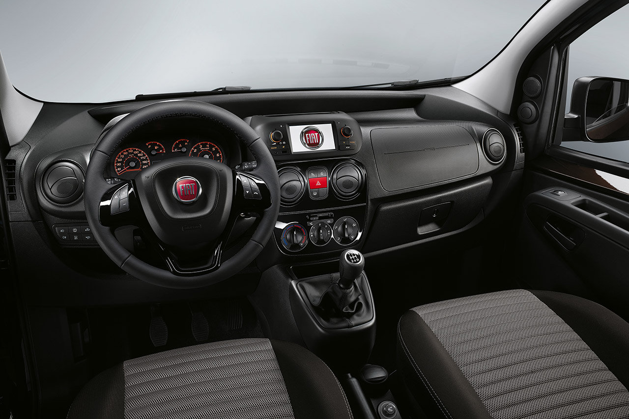 2016 Fiat Qubo (facelift) interior