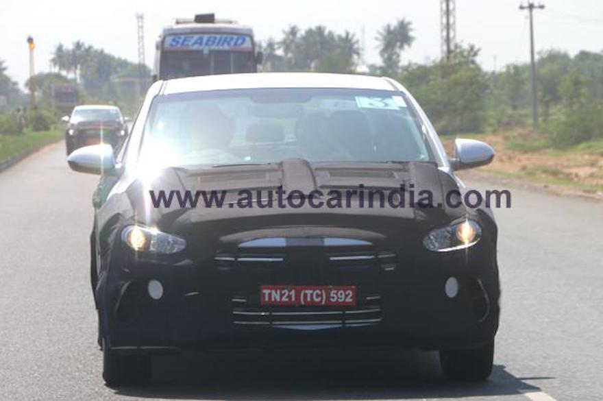 2016 Hyundai Elantra continues testing in India ahead of launch