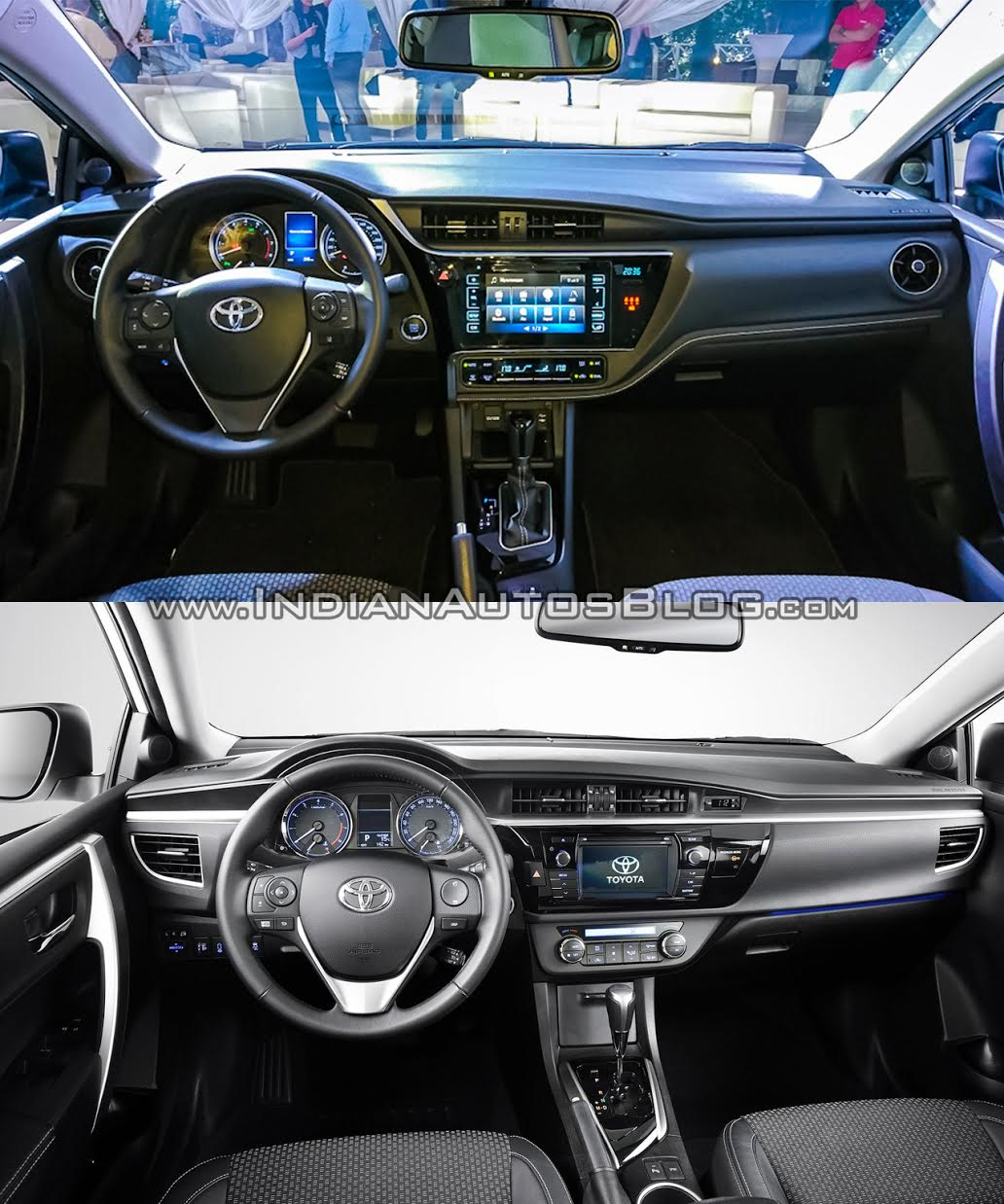 2016 Toyota Corolla  Facelift  Vs Older Model