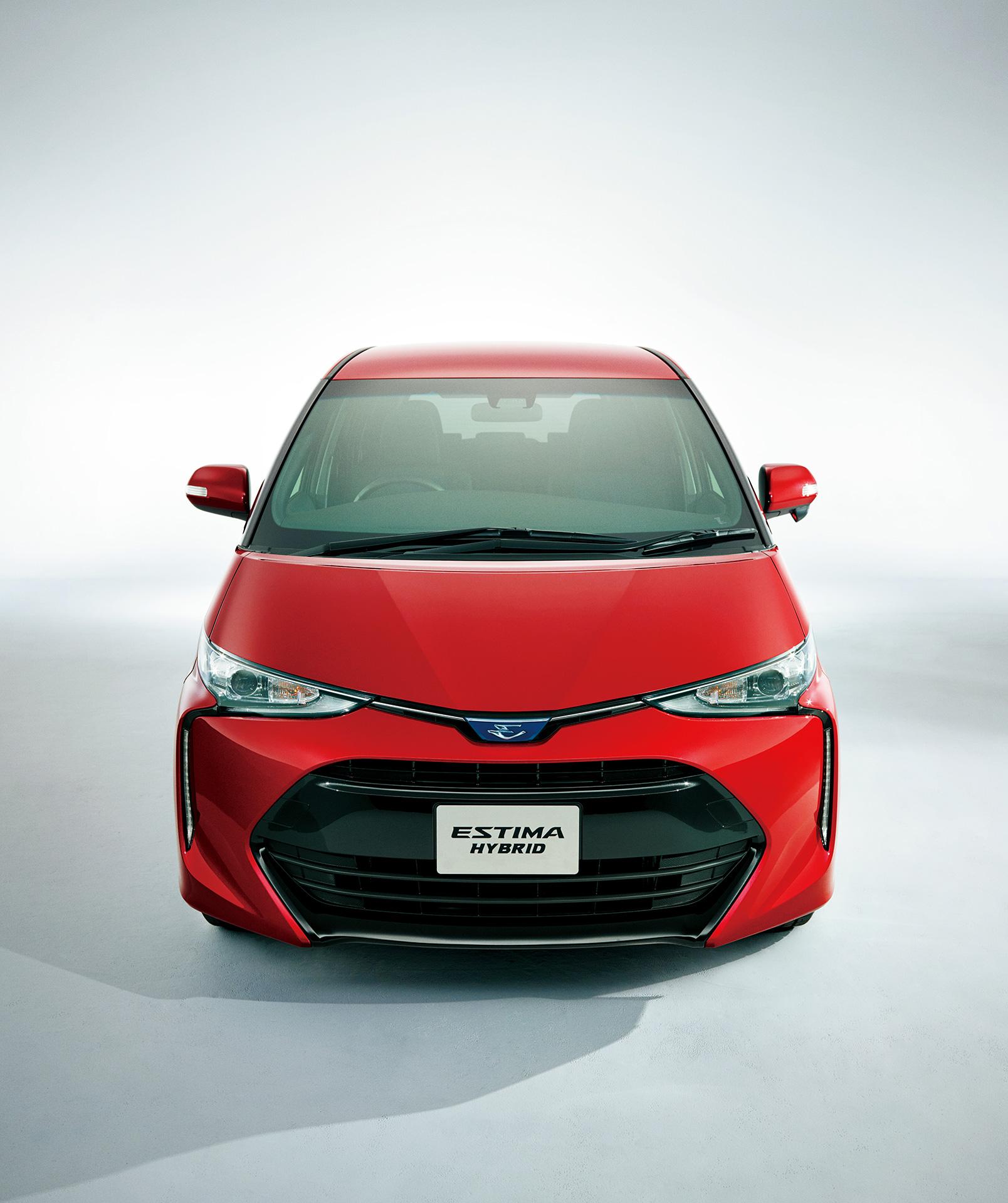 Toyota Hybrid 2016: 2016 Toyota Estima Hybrid (facelift) Front