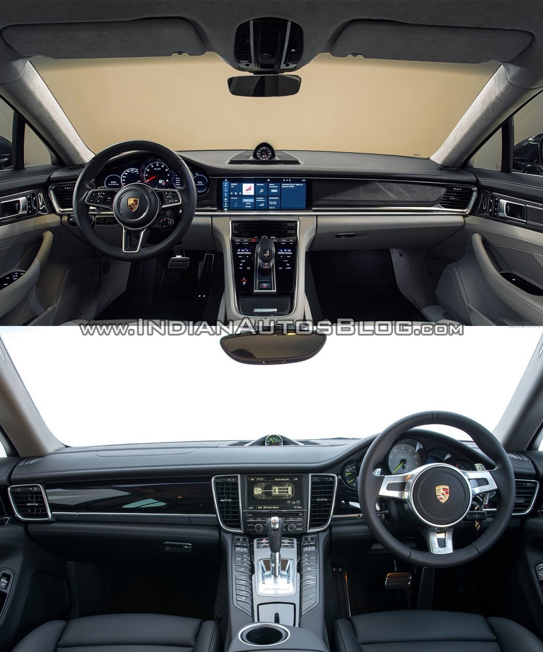 2017 Porsche Panamera Vs 2014 Interior Dashboard