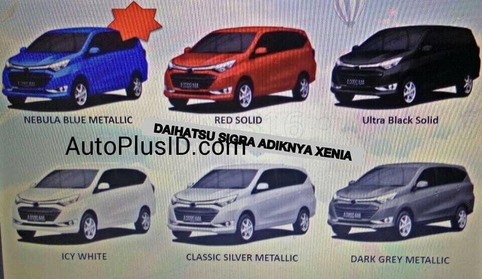 Diahatsu Sigra (rebadged Toyota Calya) leaked