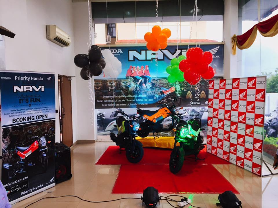 Honda Navi launched in Goa