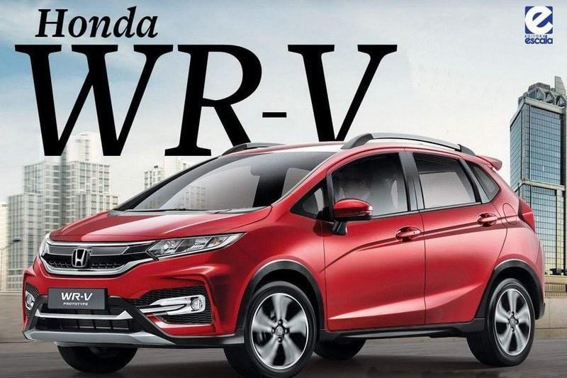 Honda WR-V rendering