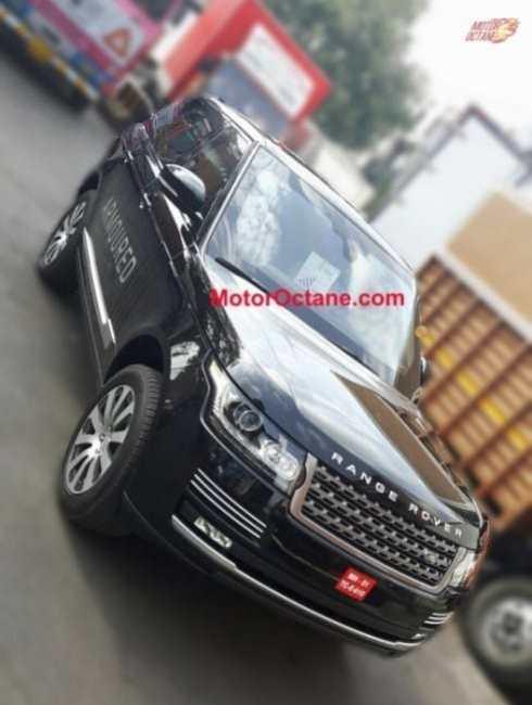 Range Rover Sentinel spy shot