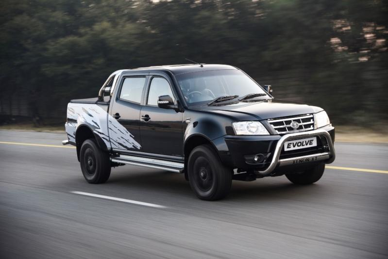 Tata Xenon Evolve Limited Edition front three quarter launched in South Africa
