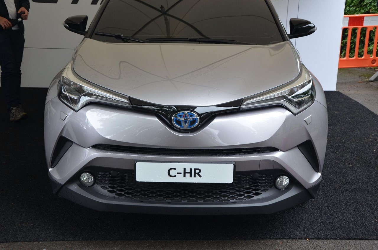 Toyota C-HR front at 2016 Goodwood Festival of Speed