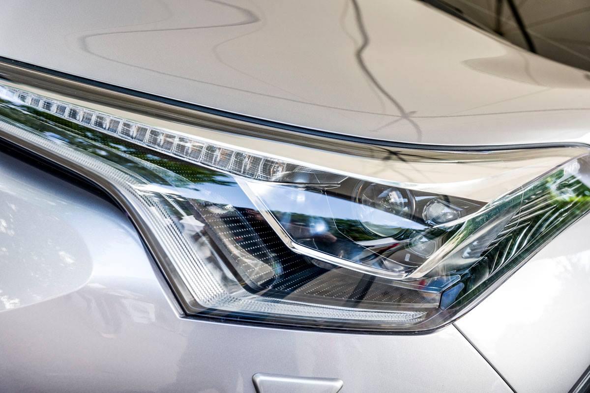 Toyota C-HR headlamp at 2016 Goodwood Festival of Speed