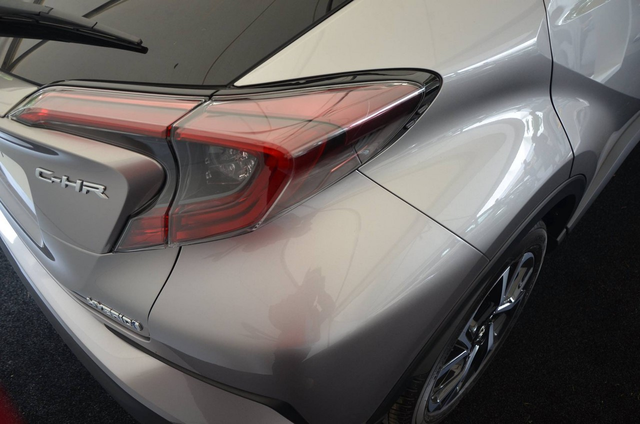 Toyota C-HR rear quarter panel at 2016 Goodwood Festival of Speed