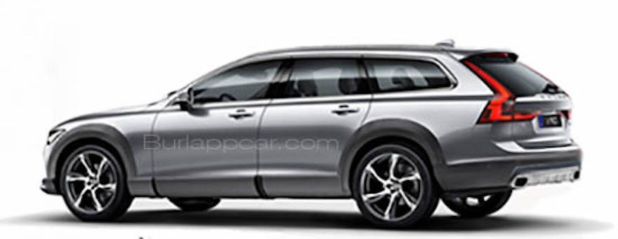 Volvo V90 Cross Country leaked in a brochure scan