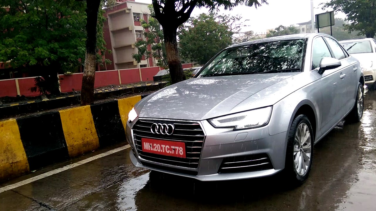 2016 Audi A4 Spied In Mumbai In Three Colors By Iab Reader