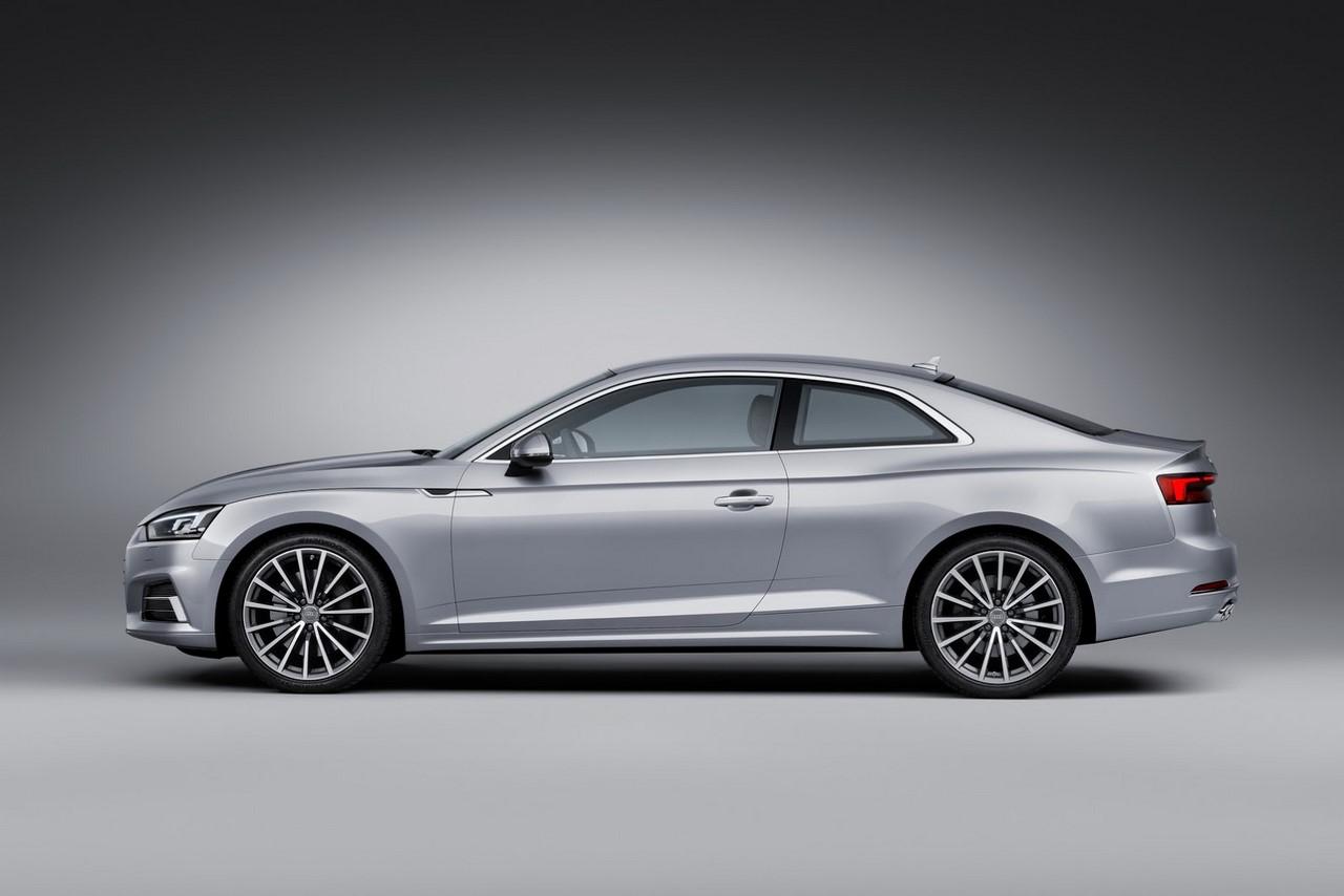 2016 Audi A5 Coupe profile