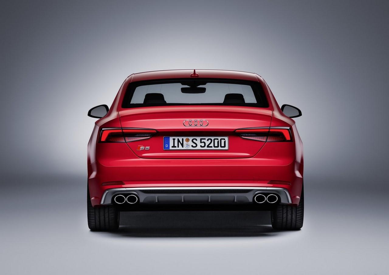 2016 Audi S5 Coupe rear