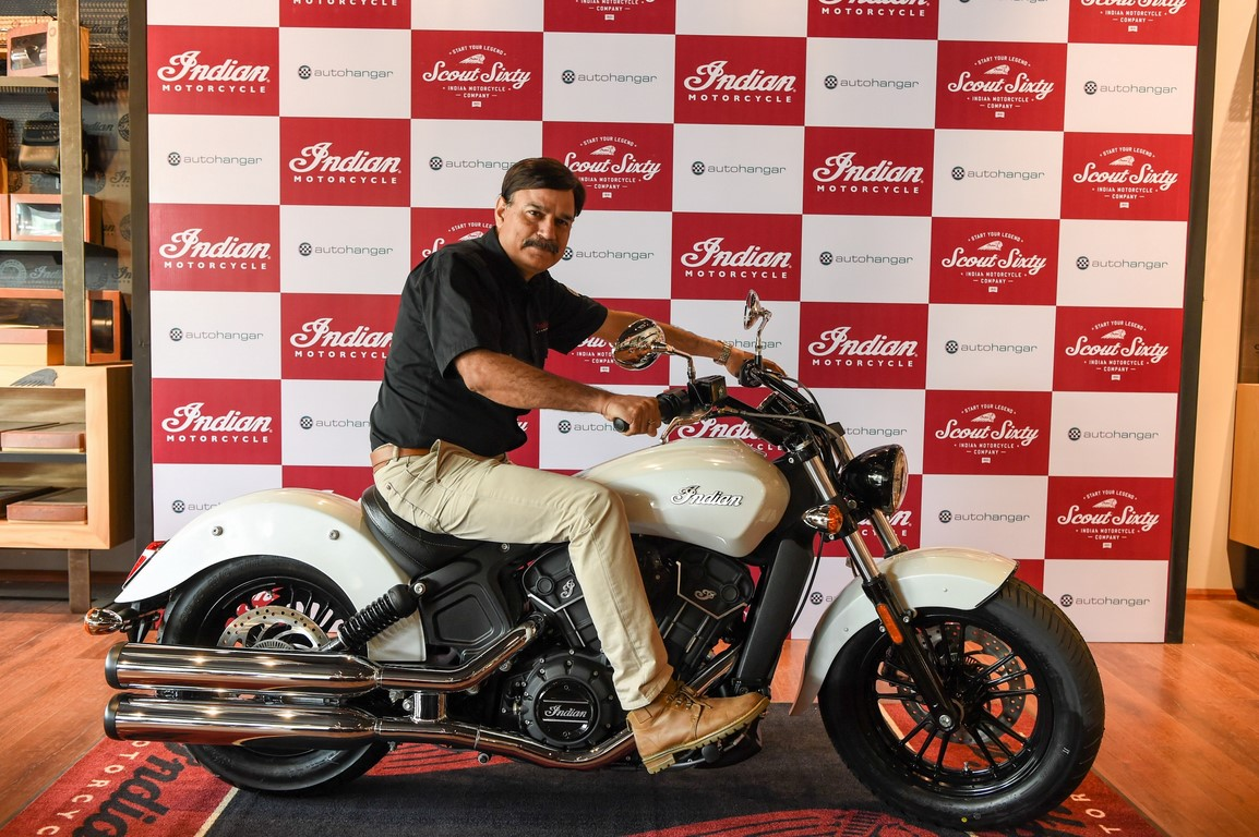 2016 Indian Scout Sixty launch side profile