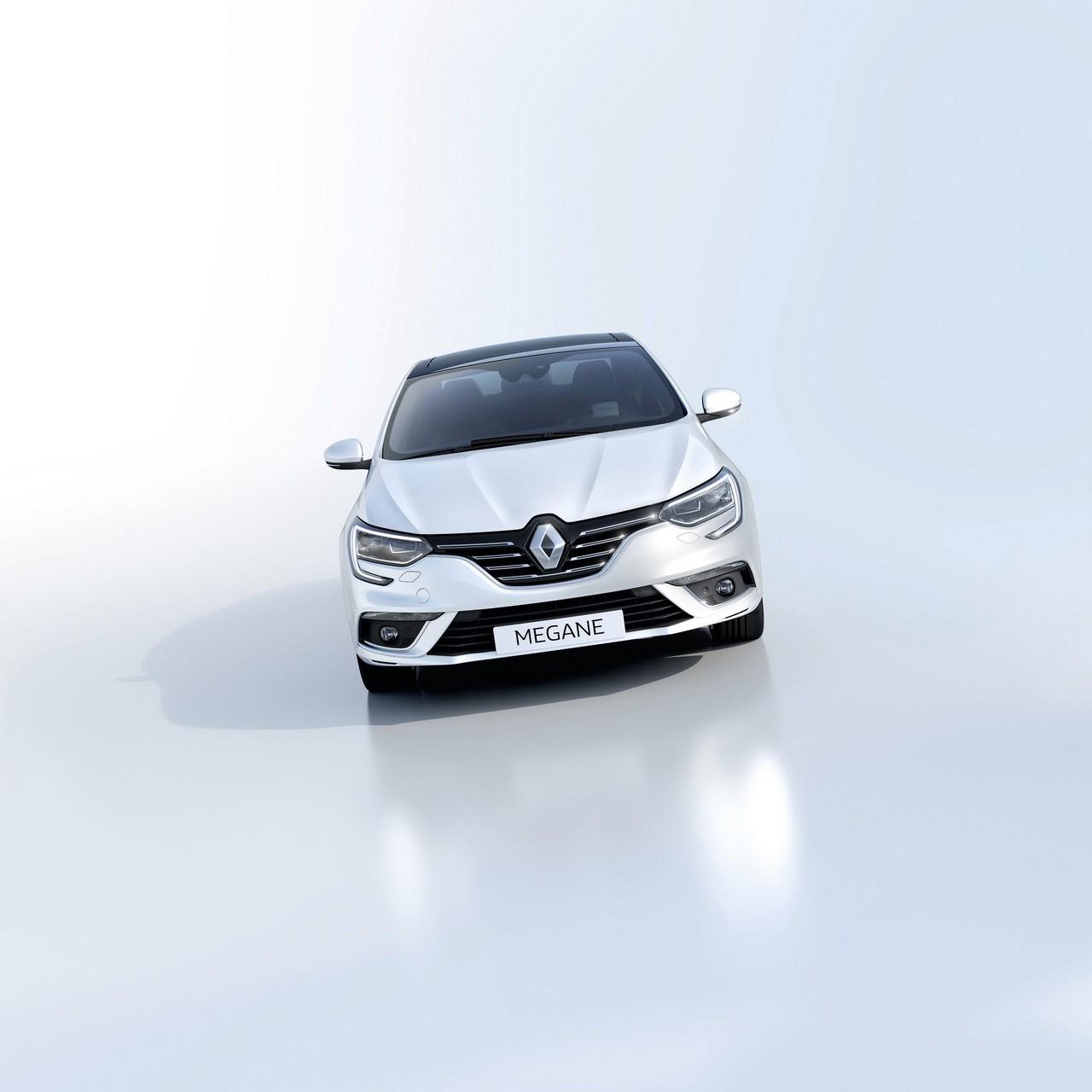 2016 Renault Megane Sedan front studio image
