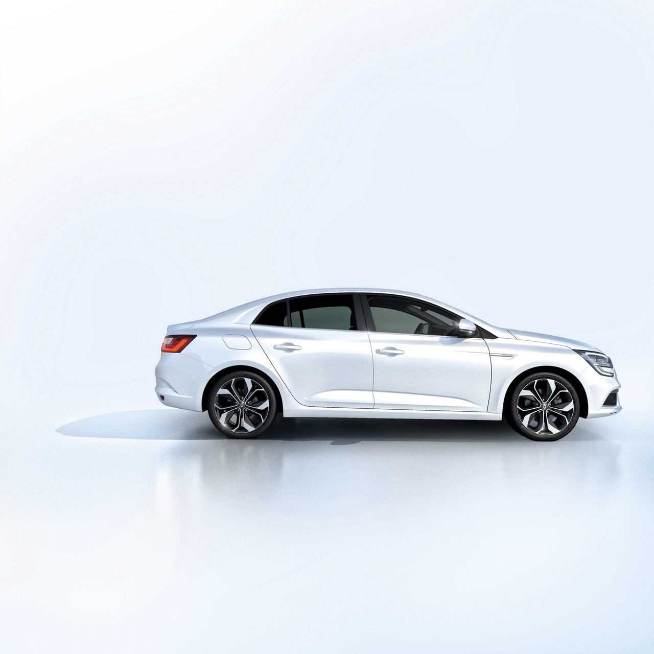 2016 Renault Megane Sedan profile studio image