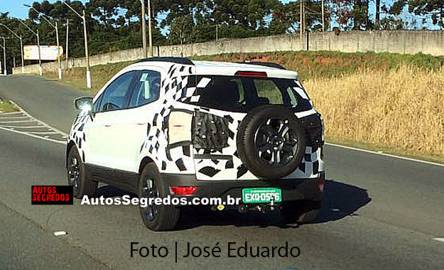 2017 Ford EcoSport spied Brazil