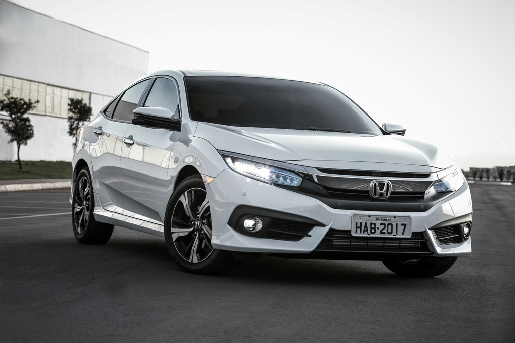 2017 Honda Civic front launched in Brazil